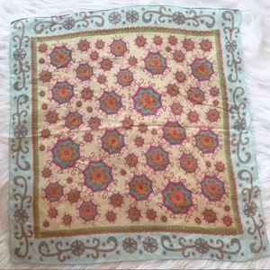 NWOT Natural Life Colorful Handkerchief Scarf Boho